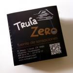 Etiquetas de producto Trufazero