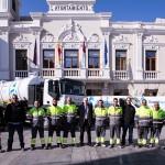 Presentación del camión de Guadalagua