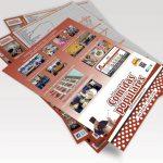 Flyer Comidas Populares