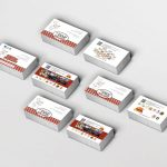 colecciones de más marketing Tarjetas de Visita Comidas Populares