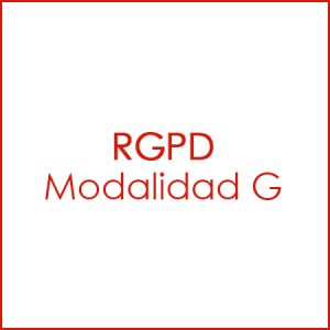 Modalidad G